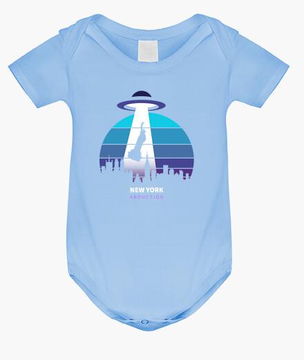 Baby bodysuit, sky blue kids clothes