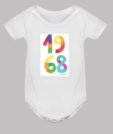 Baby bodysuit, white
