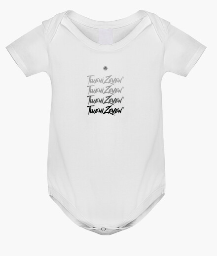 Baby bodysuit, white kids clothes