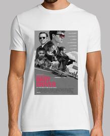 Baby Driver -  Hombre, manga corta, blanco, calidad extra