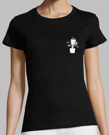 Baby Groot bailongo (mujer) camiseta