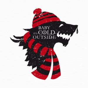 Camisetas Baby it's cold outside