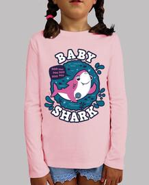 Baby Shark Chica trazo