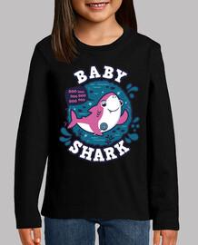 baby shark girl stroke