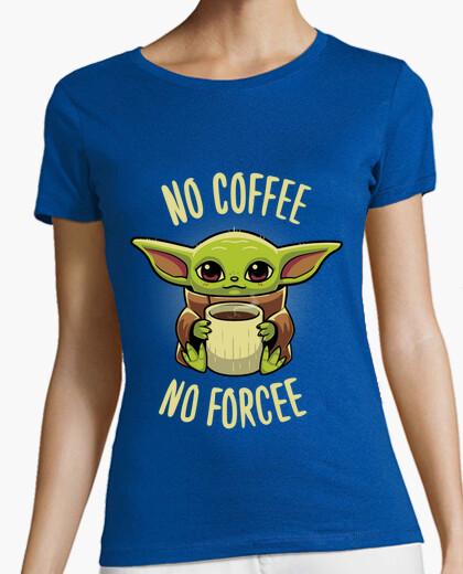 Baby yoda coffee t-shirt