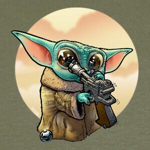 Baby Yoda Curioso T-shirts