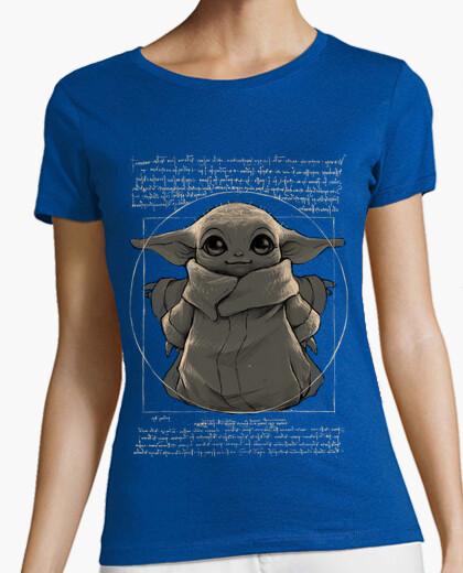 Camiseta Baby yoda cute mandalorian Da vinci