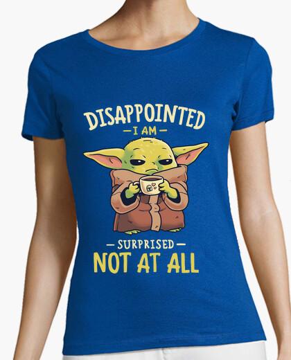 Baby Yoda Mandalorian Café Camiseta