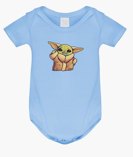 Ropa infantil Baby Yoda Mandalorian Hi There