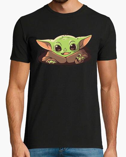 Camiseta Baby Yoda Mandalorian Strong Cuteness