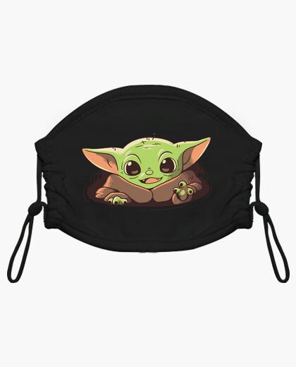 Mascarilla niño Baby Yoda Mandalorian Strong Cuteness