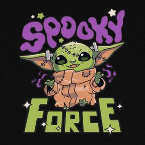 Camisetas Baby Yoda Spooky Force Grogu