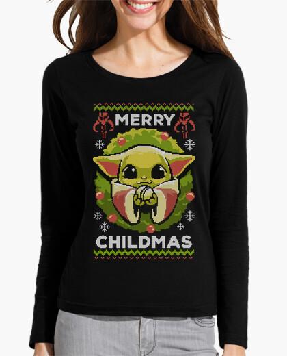 Baby yoda ugly sweater t-shirt