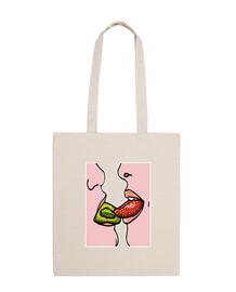 bacio lussurioso frutta -variante-