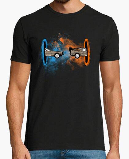 T-shirt back alla delorean