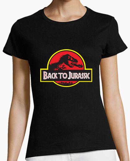 Camiseta Back to Jurassic