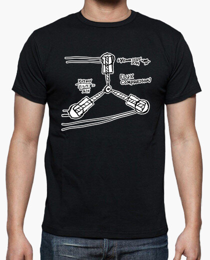 Back to the future: capacitor fluzo t-shirt