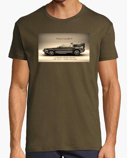 Camiseta Back to The Future (Regreso Al Futuro) - Carretera