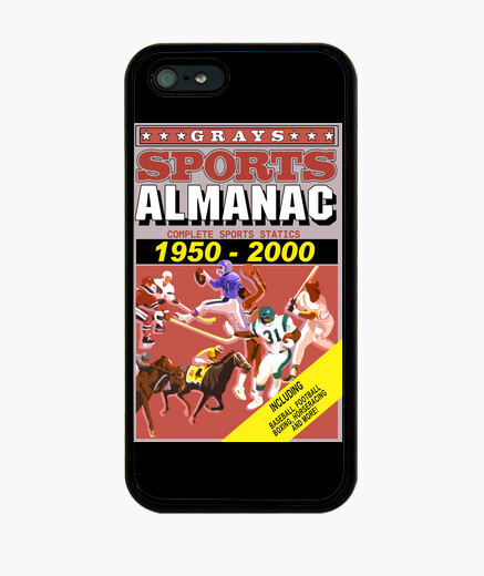 Back to the future: sports almanac iphone cases