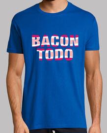 Bacon todo. Hombre, manga corta, calidad extra