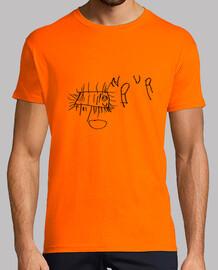 Bacterio naranja hombre