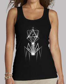 bacteriófago camiseta