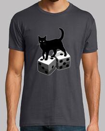 Bad Luck-Dices-Cat-Gambling