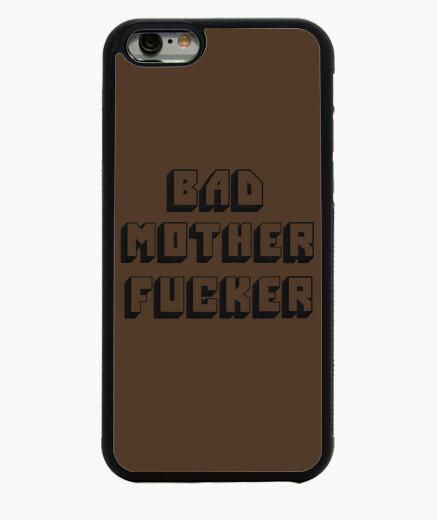 Funda iPhone 6 / 6S Bad mother fucker bordado funda