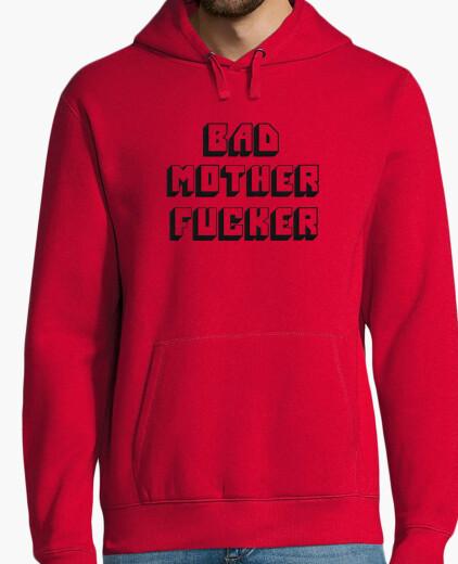 Bad mother fucker embroidered sweatshirt h hoody