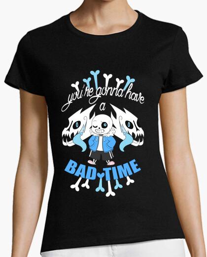 Camiseta Bad Time - Undertale