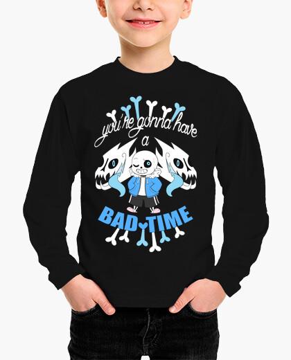 Bad time - undertale children's clothes