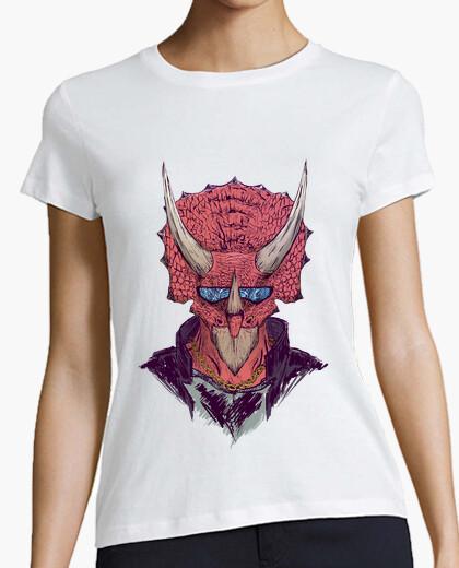 Camiseta Badass Triceratops
