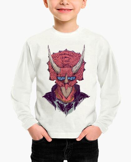 Badass triceratops children's clothes