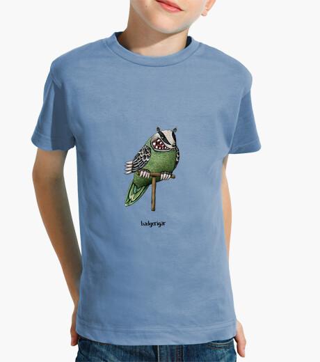 Ropa infantil badgerigar! camiseta para niños