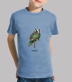badgerigar! kids t-shirt