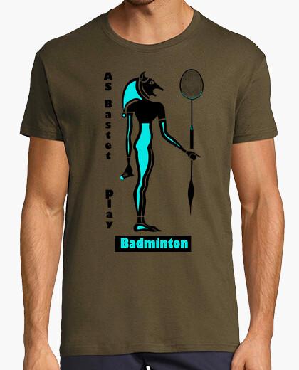 Camiseta badminton bastet 3