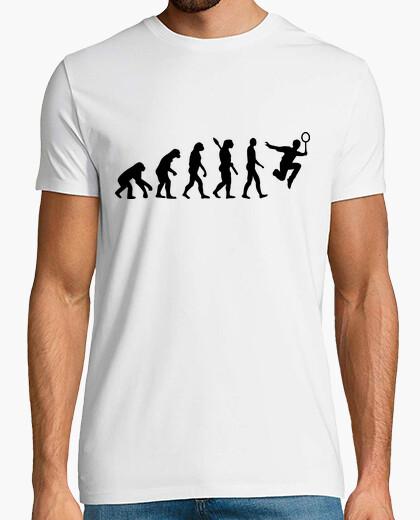 Camiseta bádminton evolución