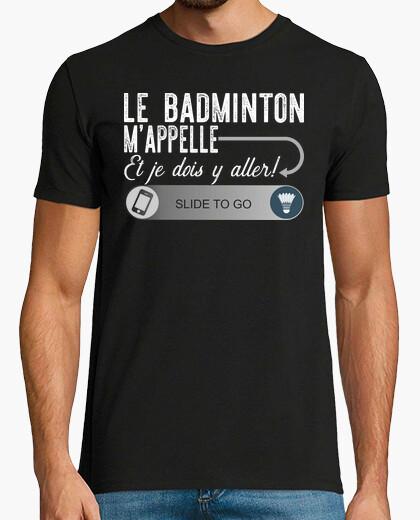 Camiseta bádminton llamado regalo