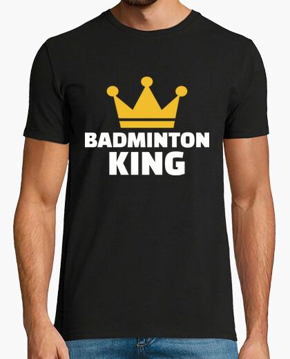 Camiseta bádminton rey