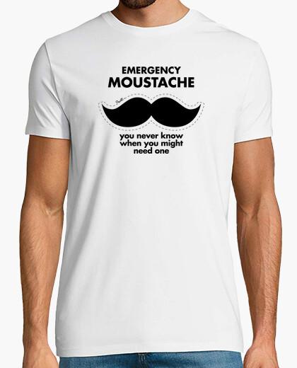 T-shirt baffi emergenza