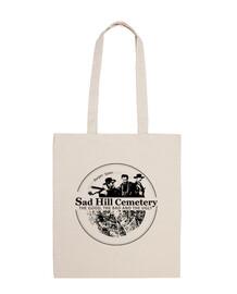 bag 100% cotton sad hill logo