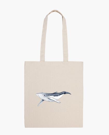 Bag baby whale andubarta - 100 cotton...
