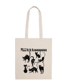 bag black cats