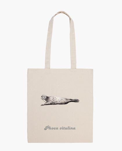Bag cloth common seal (phoca vitulina)