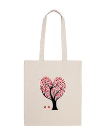 bag cuore tree