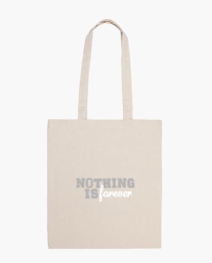 Borsa bag nulla è forever