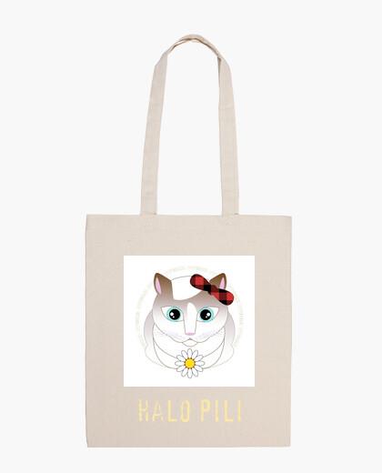 Bag white halo pili