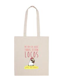 bag with design unicorn arre