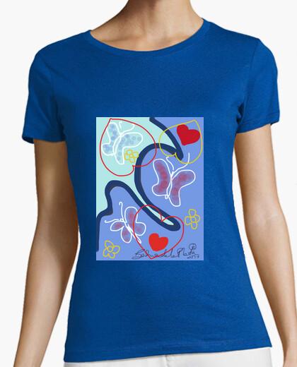 Camiseta bahiadelaplata/mariposas