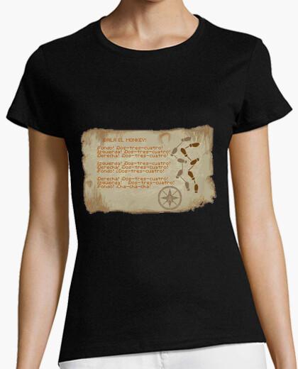 Camiseta Baila el monkey - Monkey island